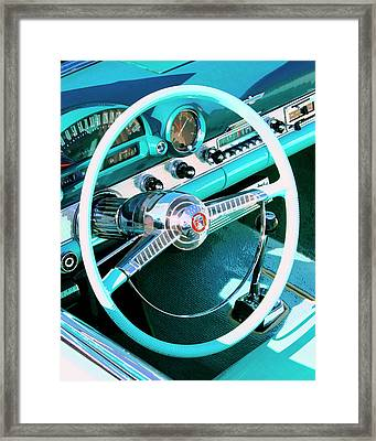 In The Cockpit Palm Springs Framed Print by William Dey