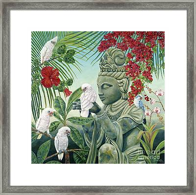 In The Company Of Angels Framed Print
