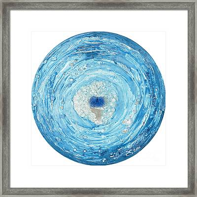 In The Core Of The Heart Framed Print