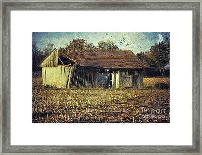 In The Country Framed Print by Jutta Maria Pusl