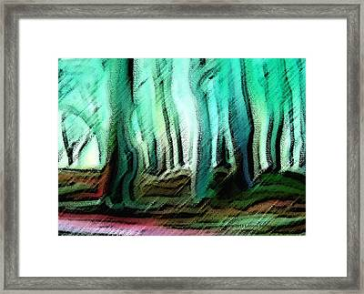 In The Country Framed Print by Lenore Senior