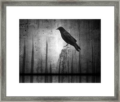 In The Dark Framed Print by Gothicrow Images