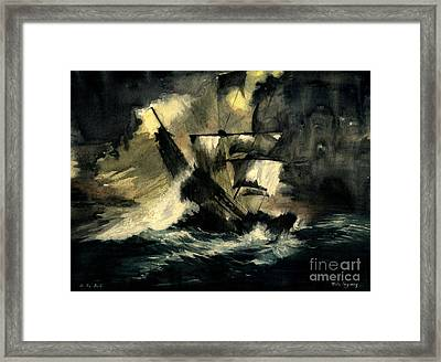 In The Dark Framed Print