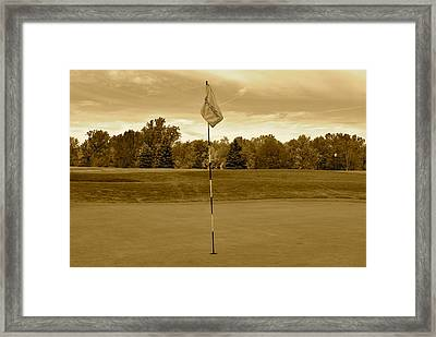 In The Days Of Yore Framed Print by Frozen in Time Fine Art Photography