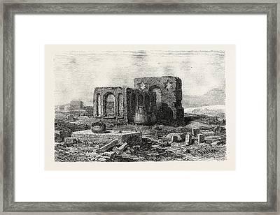 In The Desert Between Assoitan And Philae Framed Print