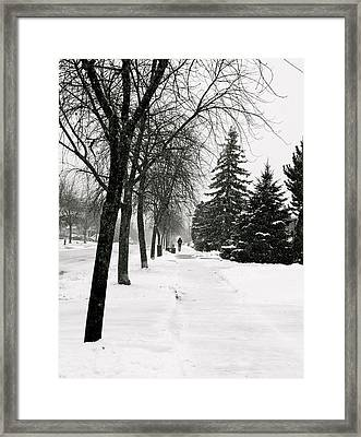 In The Distance Framed Print by Eric Dewar