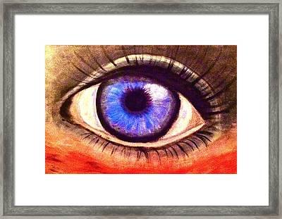 In The Eye Of The Beholder Framed Print