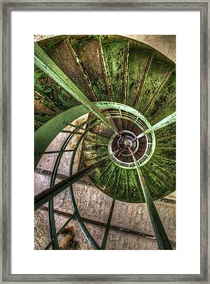 In The Eye Of The Spiral  Framed Print