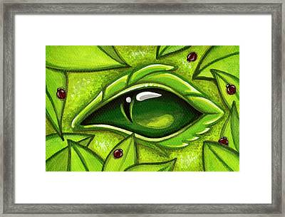 In The First Leaves Of Spring Framed Print by Elaina  Wagner