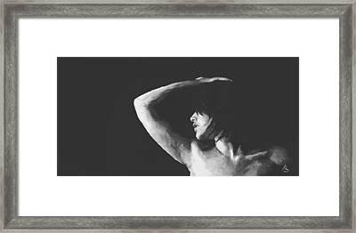 In The Flesh Vi Framed Print by Alison Schmidt Carson