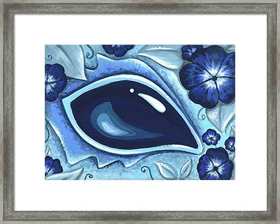 In The Flowering Vines Framed Print by Elaina  Wagner