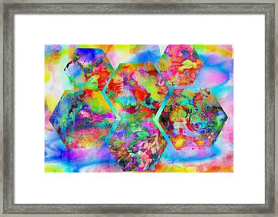 In The Flowers Framed Print by M and L Creations Craft Boutique