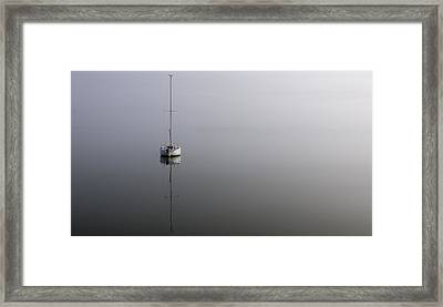 Framed Print featuring the photograph In The Fog by Gregg Southard