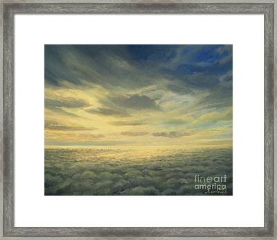 In The Footsteps Of Icarus Framed Print by Kiril Stanchev