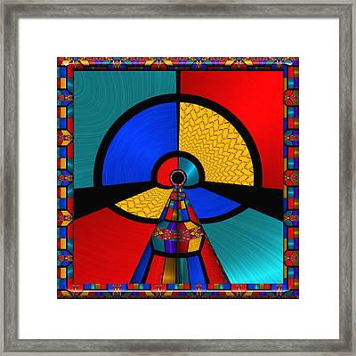 In The Frame - For Metallic Paper Framed Print by Wendy J St Christopher