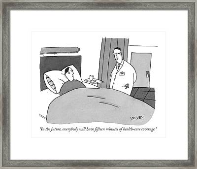 In The Future Framed Print