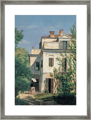 In The Garden Framed Print by Demetrio Cosola