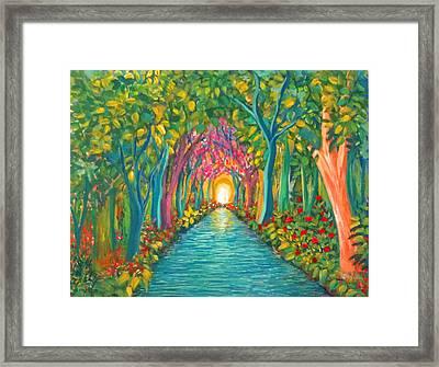 In The Garden Framed Print by Deyanira Harris