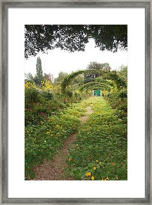 In The Garden  Framed Print by Kristine Bogdanovich