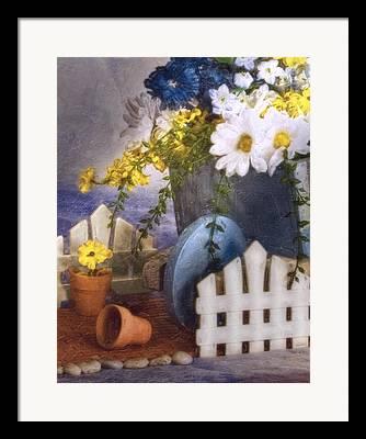 Painted Image Framed Prints