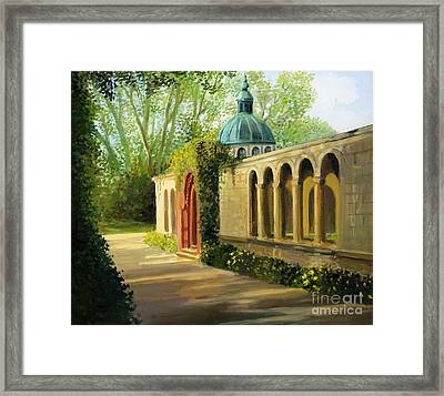 In The Gardens Of Sanssouci Framed Print by Kiril Stanchev
