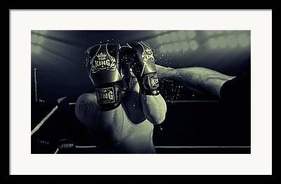 Boxing Photographs Framed Prints