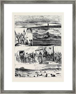 In The Great North-west With The Marquis Of Lorne Framed Print by American School