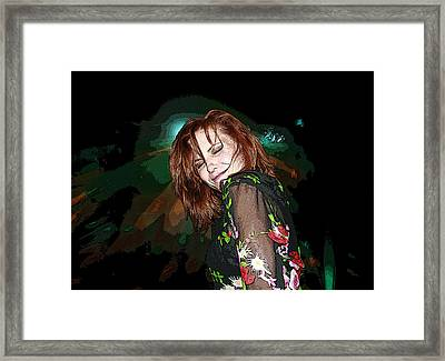 In The Groove Framed Print by Ellen Henneke