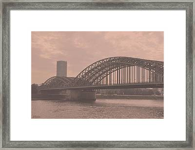 In The Heart Of Cologne Framed Print