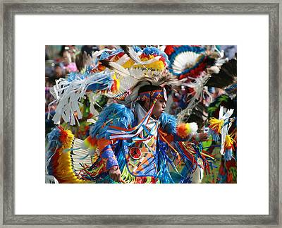 In The Heat Of The Moment Framed Print