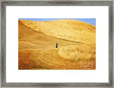 In The Hills Framed Print by Scott Pellegrin