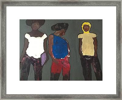 In The Hood Framed Print by Omar Hafidi