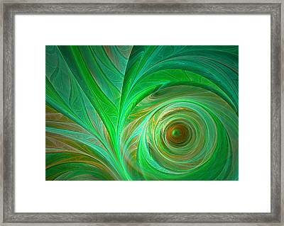 In The Jungle Framed Print by Martin Capek