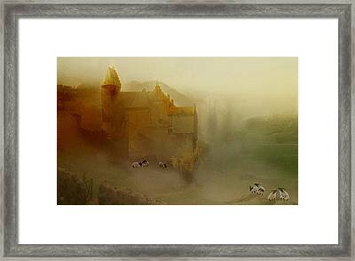 In The Kings Pasture Framed Print