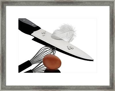 In The Kitchen 13 Framed Print