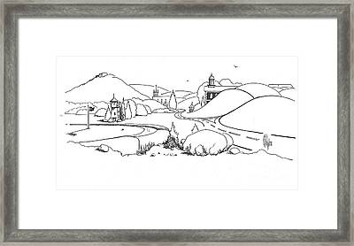 In The Land Of Brigadoon  Framed Print by Kip DeVore