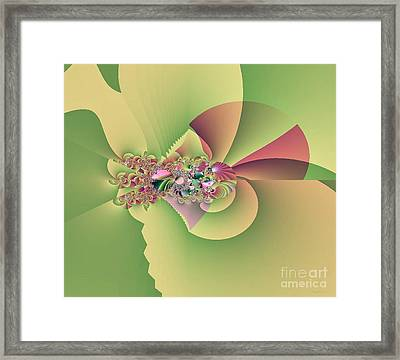 In The Land Of Fairies Framed Print by Maria Urso