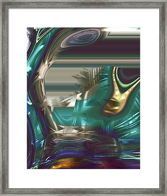 In The Land Of The Blind The One Eyed Man Is King Framed Print by Richard Thomas