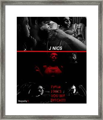 In The Life Of Nics Framed Print