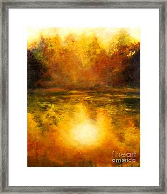 In The Light Of Day Framed Print