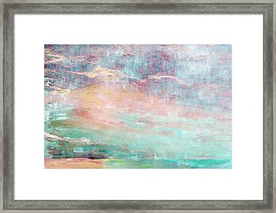 In The Light Of Each Other Framed Print