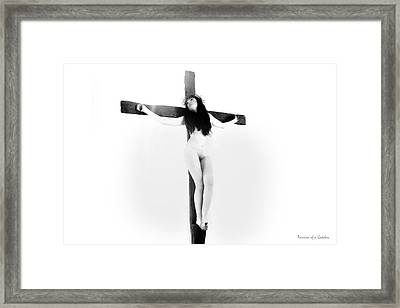 In The Light Framed Print by Ramon Martinez