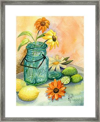 In The Lime Light Framed Print