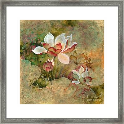 In The Lotus Land Framed Print
