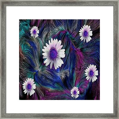 In The Magic Forest In The Temple Of Colors Framed Print