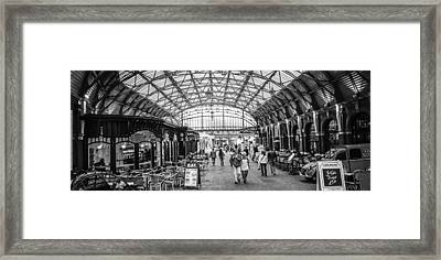 In The Market  Framed Print by Steven  Taylor