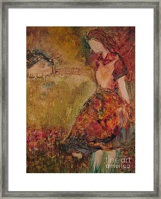 In The Meadow Framed Print by Deborah Nell