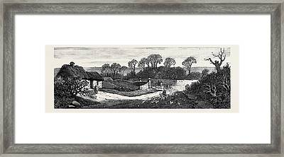 In The Meath Hunting Country A Mile From Hollywood Rath Framed Print