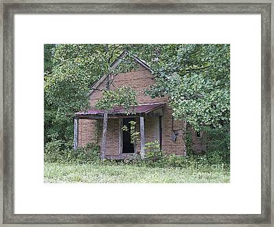 In The Middle Of Nowhere Framed Print by Ann Horn