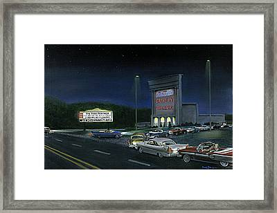 In The Midnight Hour Framed Print by David Zimmerman